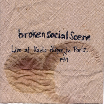 Broken Social Scene - Live at Radio Aligre FM in Paris